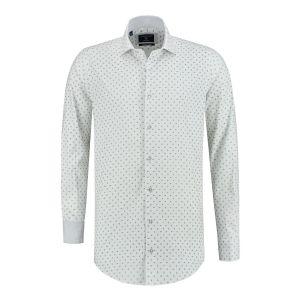 Corrino Hemd - Paisley Weiß