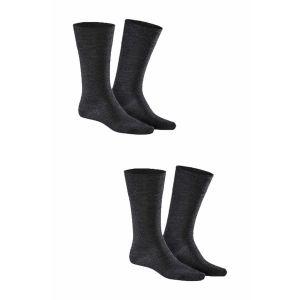 Kunert - Comfort Wool 2-Pack Anthracite