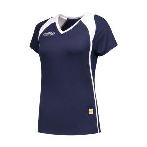 Panzeri Milano Cap Sleeves Shirt - Dunkelblau