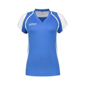 Panzeri Cannes Cap Sleeves Shirt - Blau