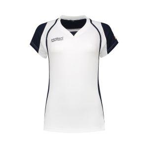 Panzeri Cannes Cap Sleeves Shirt - Weiß