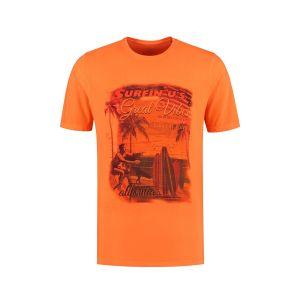 Kitaro T-Shirt - Great Vibes Orange