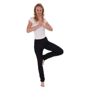 We Love Long Legs - Yogahosen schwarz