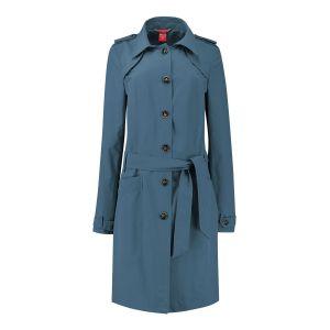 Only M Trenchcoat - Imprime Blau